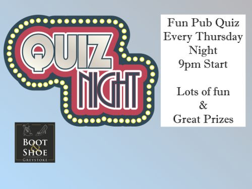 Boot and Shoe Inn –fun pub quiz Archives - Boot and Shoe Inn -